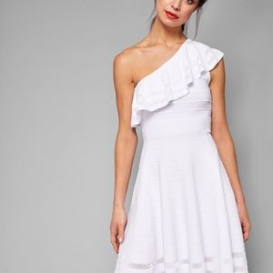 Ted Baker STREENA One shoulder knitted Dress